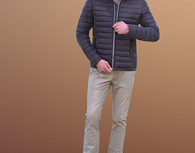 3D asset Lars 10437 - Walking Casual Man
