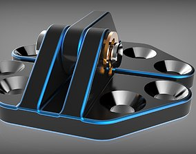 3D print model link Door hinge