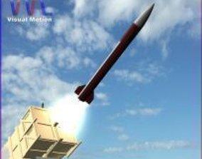3D model PAC-1 Missile