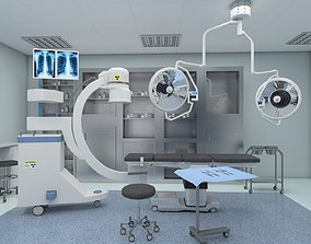 Operating Room 3D Model low-poly