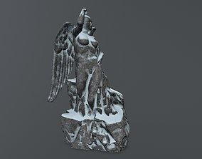 woman statue 2 3D asset