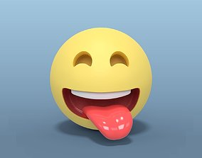 3D model Laughing Smiley
