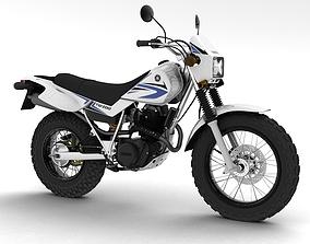 Yamaha TW200 2012 3D model