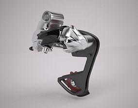 3D model Mountain Bike Rear Gear Changer Mechanism