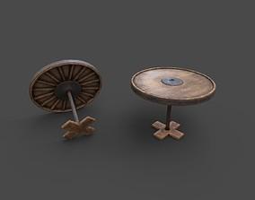 3D asset Wild West Basic Poker Table PBR