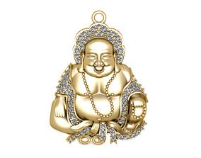 Buddha happy jewelry 3D print model