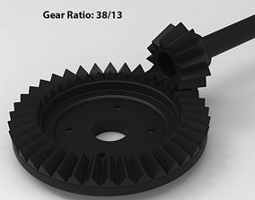 Gear Set 38T 13T 3D print model