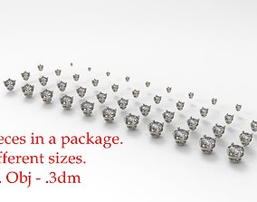 3D print model Jewelry Prong Head Set Package 004