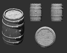 3D print model Barrel for Board game