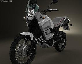 3D Yamaha XT660Z Tenere 2012