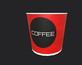 Coffee Cup household 3D model low-poly