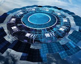 3D Space Tourism Station