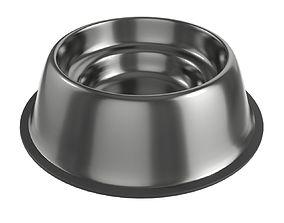 dog food bowl empty 3D