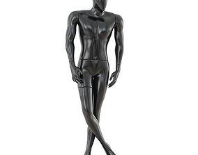 Faceless male mannequin 38 3D