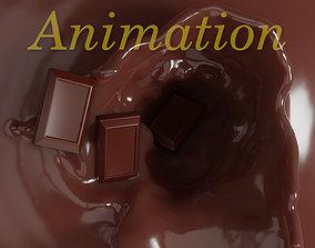 Chocolate animation 3D
