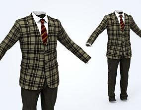 3D model game-ready Business Suit Man