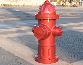 3D print model 6 inch Scale Fire Hydrant