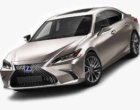 Lexus ES 2019 3D model