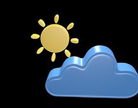 Weather symbol 1 3D