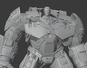 3D print model Mark 44 Hulkbuster Ultimate