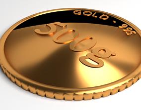 3D Goldcoin 500gram