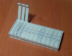 Box for SMD elements 3D printable model