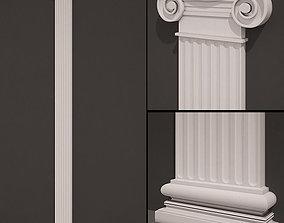 3D model Pilaster antique type 5