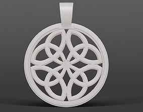 3D printable model Dara Knot Pendant