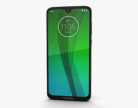 3D model Motorola Moto G7 Ceramic Black