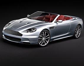 Aston Martin DBS Volante 2010 uk 3D model
