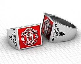 3D printable model Manchester United ring by Satta