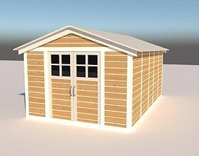 3D model shed Garden Shed