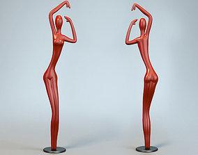 3D print model Sculpture Dance Woman P