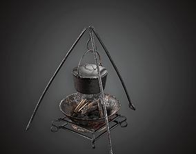 MVL - Cooking Pot - PBR Game Ready 3D asset