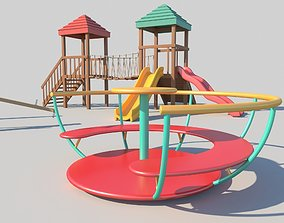 3D model The Playground