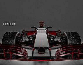3D model Ferrari F1
