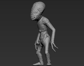3D Extraterrestrial fantastic