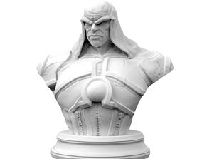 Darkseid Bust 3D print model