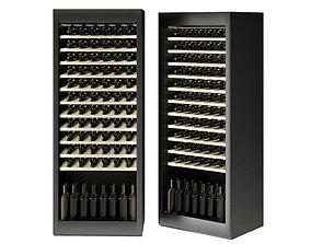 3D model Samsung LUX Winecellar Fridge Refrigerator