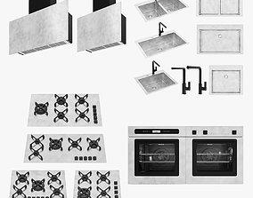sinks 3D model Barazza appliances