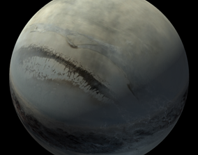 3D model Planet Blink
