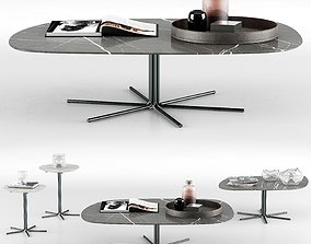 3D Minotti Rays Coffee Tables