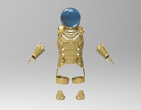 Mysterio Far From Home fan Art for 3D Printing full body