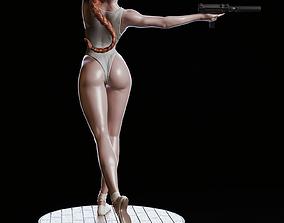 Black Widow Sculpt Model STL 3D