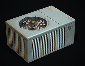 Air Condition Outdoor 3D asset