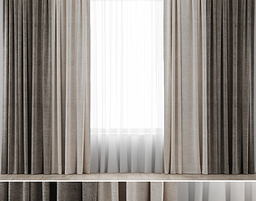 3D Curtains 04