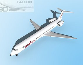 rigged Falcon3D MD-80 Andes Lineas Aereas
