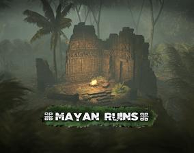 3D model Mayan Ruins