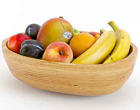 mango 3D Fruit Bowl