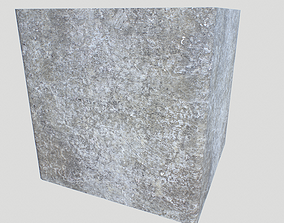 3D model Old concrete textures pack 4